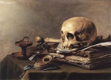 SkullBooksVanitas